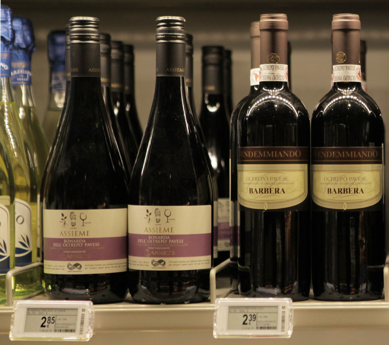 Nicolis Project | in-store digital communication esl_vini4a Electronic Shelf Labels
