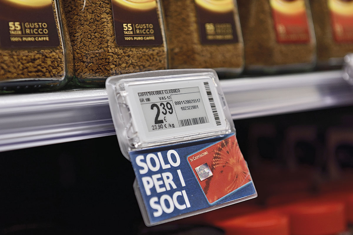 Nicolis Project | in-store digital communication slider_bsystem3e Evidenziatori per scaffali