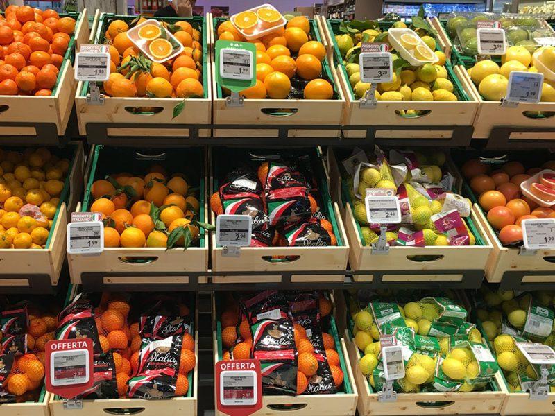 Nicolis Project etichette-elettroniche-ortofrutta-800x600 La etiqueta electrónica en la sección frutas y verduras. Todas las ventajas de funcionamiento y las nuevas posibilidades de comunicación