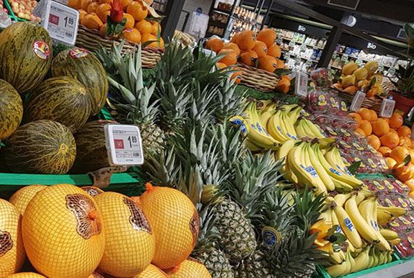 Nicolis Project etichette-elettroniche-Gourmet-Deco3 La etiqueta electrónica en la sección frutas y verduras. Todas las ventajas de funcionamiento y las nuevas posibilidades de comunicación