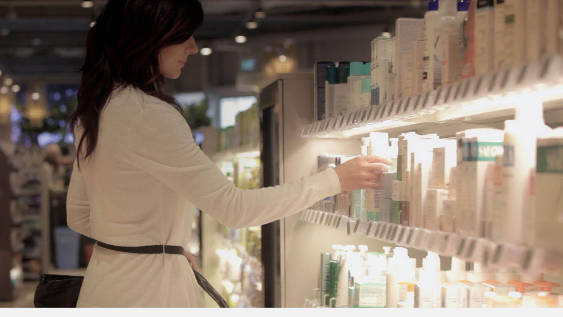 Nicolis Project   in-store digital communication supermercato-etichette-elettroniche-1 Home Page Nicolis Project