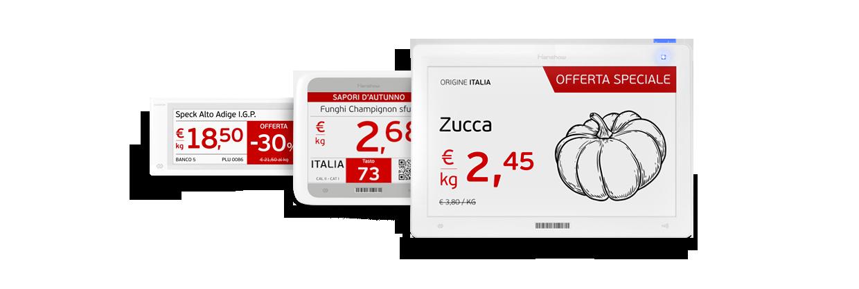Nicolis Project etichette-elettroniche-1 Iperammortamento 250% in scadenza per l'acquisto di etichette elettroniche e altre soluzioni di comunicazione digitale