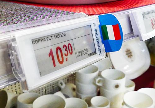 Nicolis Project | in-store digital communication Grosso-Vacanze-etichette-4 Grosso Vacanze punta tutto sul servizio offerto ai clienti con le etichette elettroniche