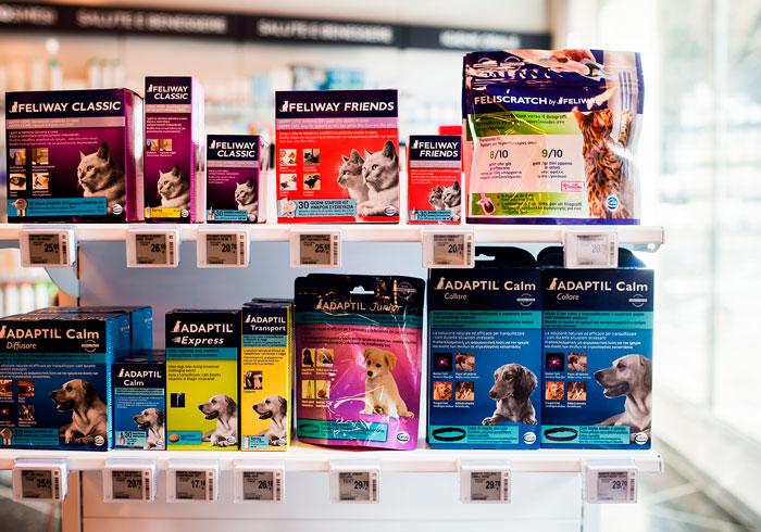 Nicolis Project | in-store digital communication etichette-elettroniche-petshop-4 Il nuovo negozio per animali Giulius Demas installa le etichette elettroniche proposte da Nicolis Project