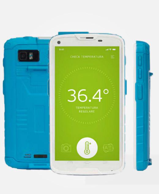 Nicolis Project | in-store digital communication bsafe-mobile-1 bsafe | Metti in sicurezza i luoghi con i termometri a distanza