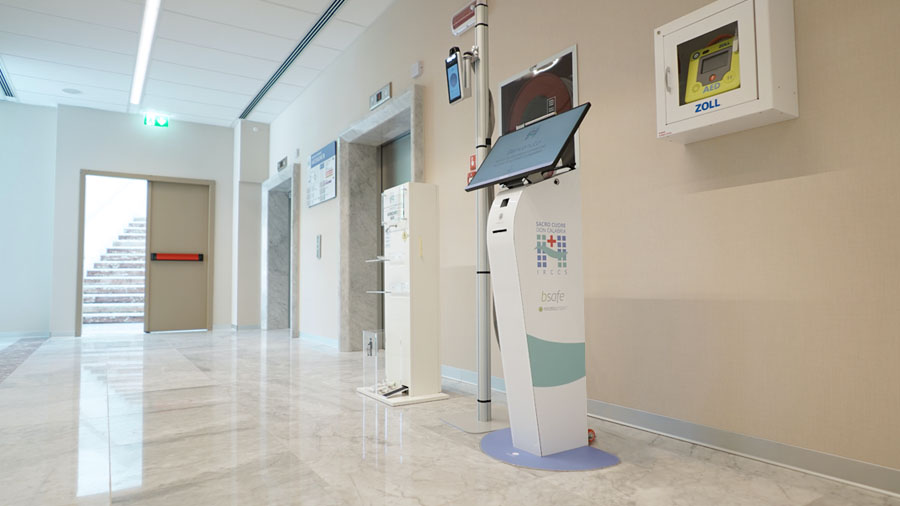 Nicolis Project | in-store digital communication ospedale-negrar-bsafe-2 All'ospedale di Negrar la sanità diventa digitale con bsafe