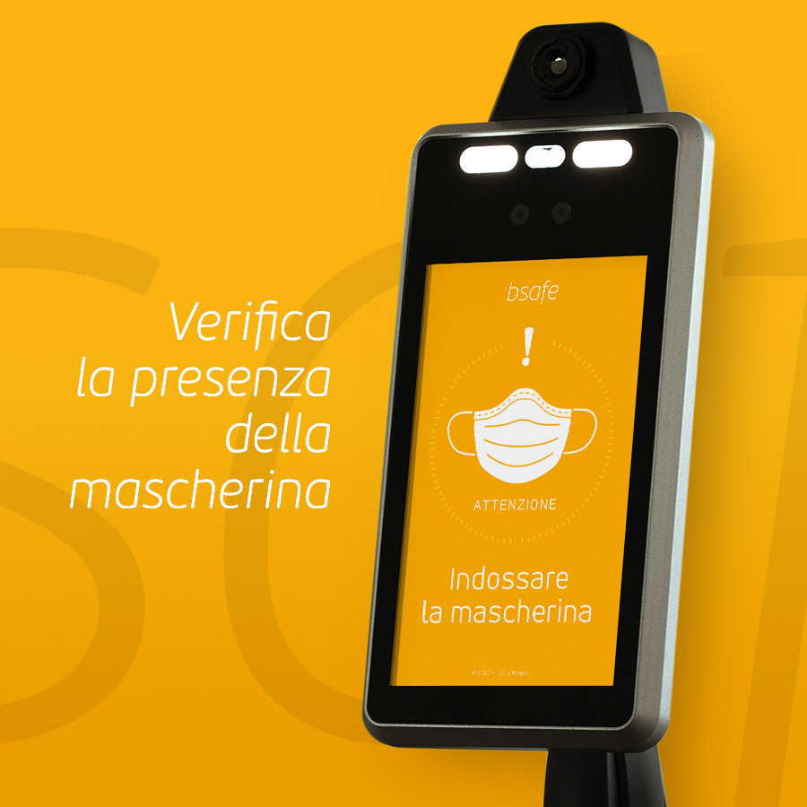Nicolis Project | in-store digital communication bsafe-multi-marcherina-3 bsafe | Metti in sicurezza i luoghi con i termometri a distanza