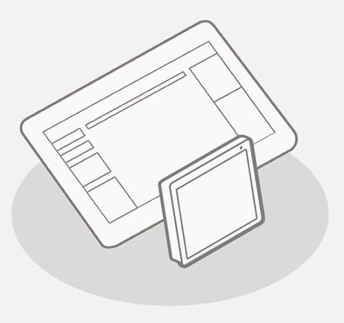 Nicolis Project   in-store digital communication dispositivo-03 sQip