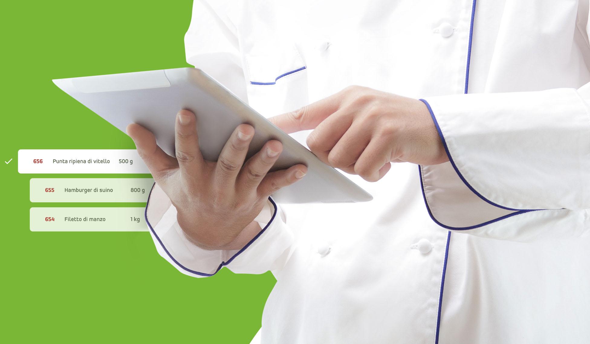 Nicolis Project | in-store digital communication prepara-1-2 sQip