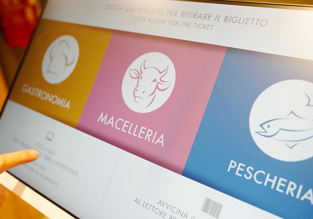 Nicolis Project | in-store digital communication nicolisproject-Coal-Fossato-di-Vico-7 COAL sceglie Nicolis Project e la comunicazione digitale per il nuovo supermercato eccoMi a Fossato di Vico