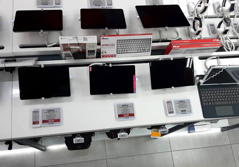 Nicolis Project | in-store digital communication np-expert-campania-3 Da Expert Trilogs le etichette digitali guidano i clienti nella scelta dell'elettrodomestico giusto