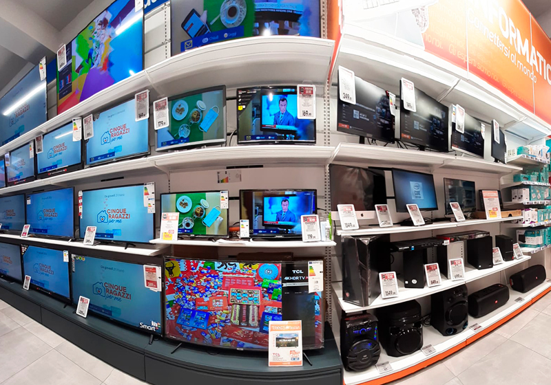 Nicolis Project | in-store digital communication np-expert-campania-6 Da Expert Trilogs le etichette digitali guidano i clienti nella scelta dell'elettrodomestico giusto