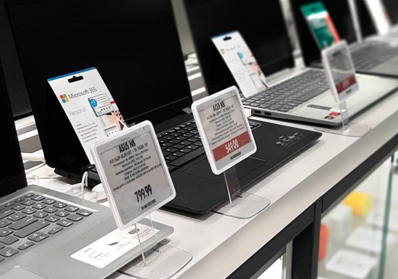 Nicolis Project | in-store digital communication np-expert-campania-8 Da Expert Trilogs le etichette digitali guidano i clienti nella scelta dell'elettrodomestico giusto