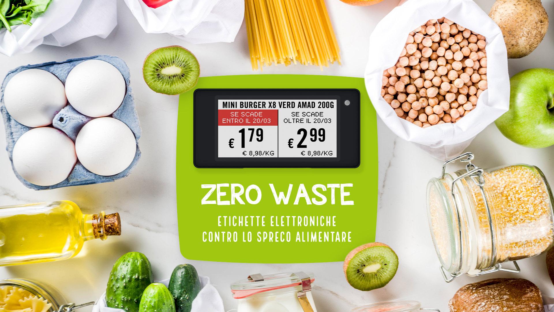 Nicolis Project | in-store digital communication np-zero-waste La lotta allo spreco alimentare passa anche dalle etichette elettroniche
