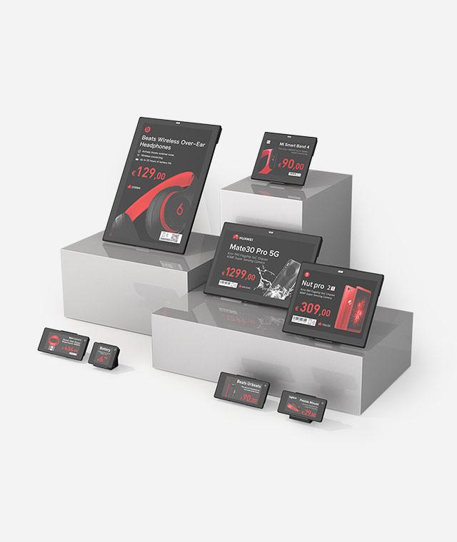 Nicolis Project | in-store digital communication etichette-elettroniche Sistemi di fissaggio e comunicazione bsystem3