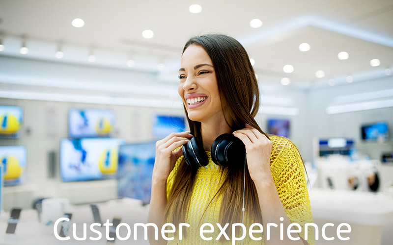 Nicolis Project   in-store digital communication CUSTOMER-EXPERIENCE Home Page Nicolis Project