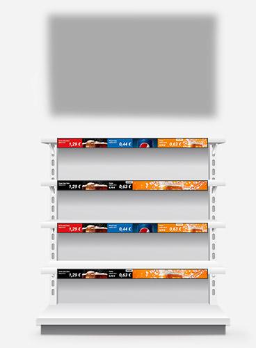Nicolis Project | in-store digital communication difgital-signage-bg Sistemi di fissaggio e comunicazione bsystem3