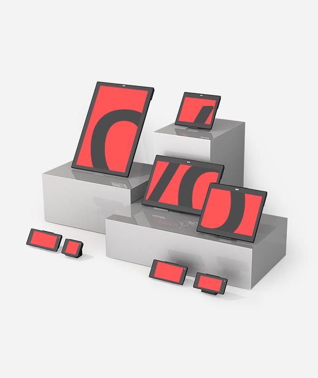Nicolis Project | in-store digital communication over-label Sistemi di fissaggio e comunicazione bsystem3